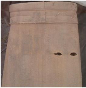 Example of Filter Bag With Holes