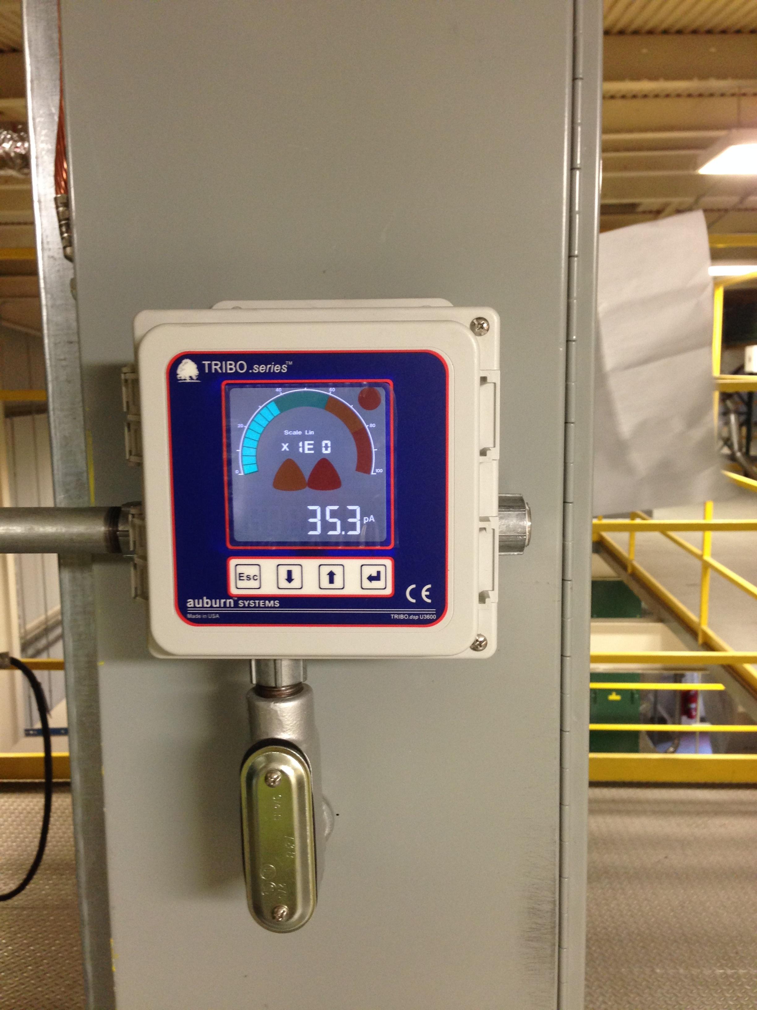 Auburn Systems Triboelectric Monitoring remote box.