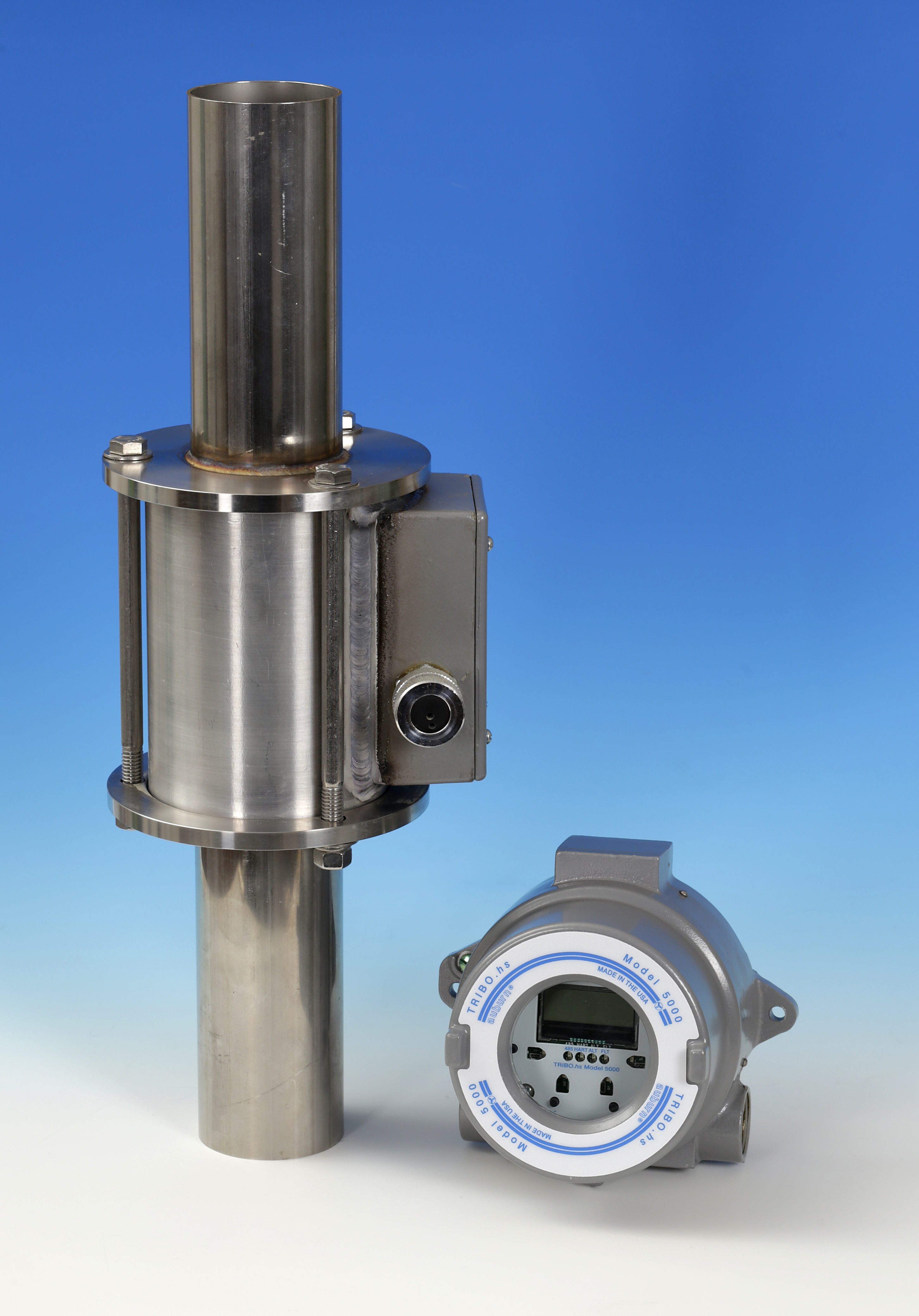 Tribo HS Model 5000 measures actual particle velocity in pneumatic conveying systems